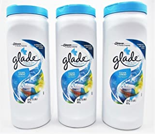 Glade ~ Carpet & Room Refresher ~ Clean Linen Scent 32oz ~ (Pack Of 3)