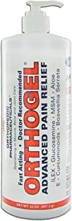Orthopedic Pharmaceuticals Orthogel Cold Therapy, 32 Oz Pump Bottle (OR4124) Category: Skin Care