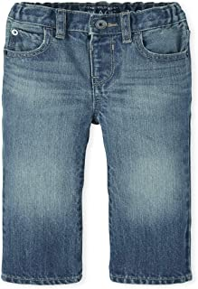 The Children's Place Boys' Baby and Toddler Basic Bootcut Jeans