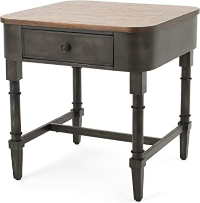 Christopher Knight Home Mirelle Wood Accent Table, Brown / Archaize Paint Finish