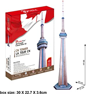 CubicFun Canada's National CN Tower 3D Puzzle from