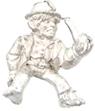 Stonehaven Halfling Wool Merchant Rider Miniature Figure for 28mm Table Top Wargames - Made in USA