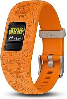 Garmin 010-01909-3A vivofit jr. 2, Kids Fitness/Activity Tracker, 1-Year Battery Life, Adjustable Band, Star Wars Light Si...