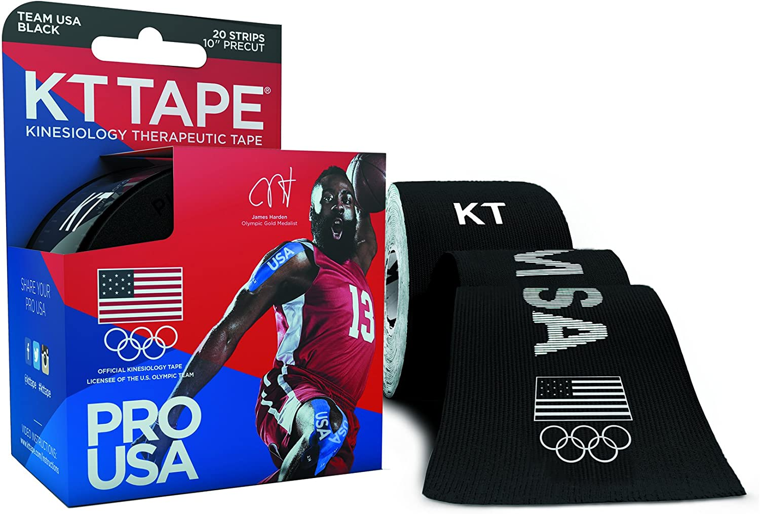 KT TAPE PRO Synthetic Kinesiology Resistant free Water Sports depot a Tape