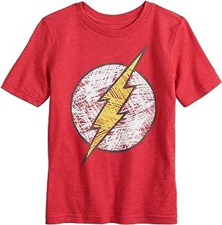 Little Boys' 4-12 The Flash Logo Tee