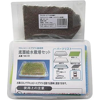 ブロッコリースプラウト種子200ml(栽培セット付き)スルフォラファンはサプリより自家栽培が健康的