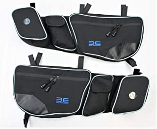 Bevel Engineering Door Bags for Can Am Maverick X3 2017 2018 Passenger And Driver Side Storage Bag with Knee Protection