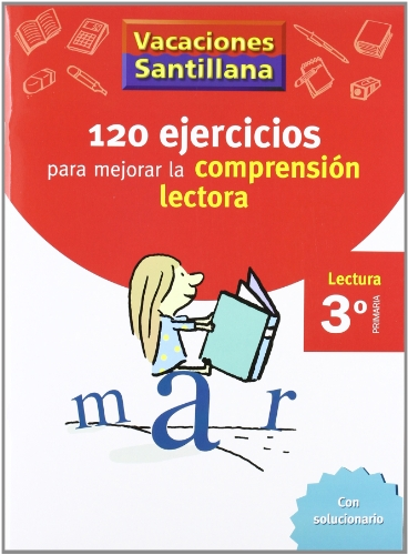 Vacaciónes Santillana, lectura, comprensión lectora, 3 Educación PriMaría. Cuaderno - 9788429409000