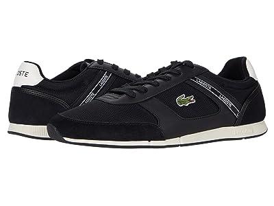 Lacoste Menerva Sport 0120 1 (Black/Off-White) Men