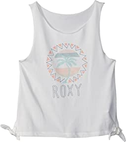 Pretty Heart Palm Tank Top (Big Kids)