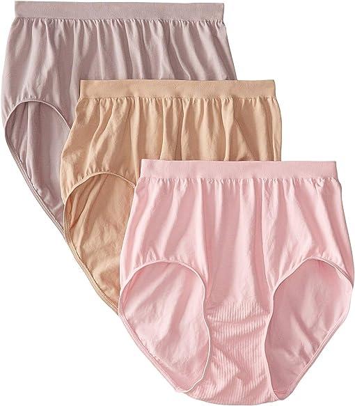 Pink/Steel/Nude