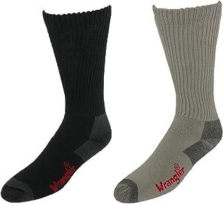 Wrangler Men's Work Boot Sock (Pack of 4)