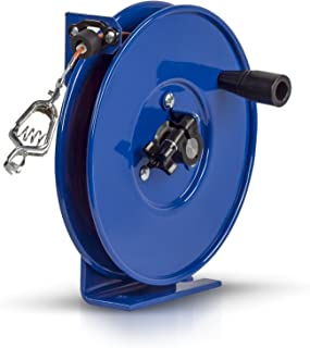 Coxreels SDH-100 Spring Rewind Static Discharge Hand Crank Cable Reel: 100' Cable