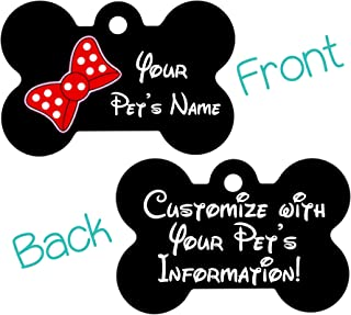 Cute Minnie Double Sided Personalized