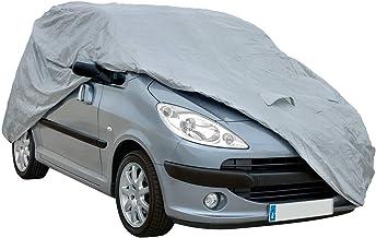 Funda exterior premium para Fiat PANDA 4X4 DE 2004, impermeable, doble capa sintética y de finas trazas de algodón por el interior, transpirable para evitar la condensación en el parabrisas.