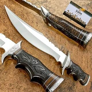 2a's Knives Custom Handmade D2 Steel Bowie Knife .- Sword/Chef Kitchen Knife/Dagger/Full Tang/Skinner/Axe/Billet/Cleaver/Bar/Folding Knife/Kukri/Knife Accessories/Survival