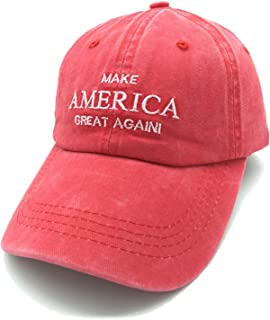 Embroidered Unisex Make America Great Again Denim Dad Hats MAGA Adjustable Baseball Cap