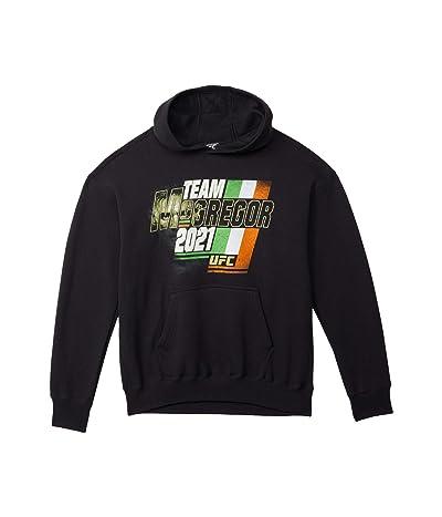 UFC Team Conor McGregor Slant Hoodie (Black) Men