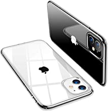 TORRAS Crystal Clear Compatible for iPhone 11 Case 6.1 inch, Ultra Thin Slim Fit Shockproof Flexible TPU Rubber Phone Case, Crystal Clear
