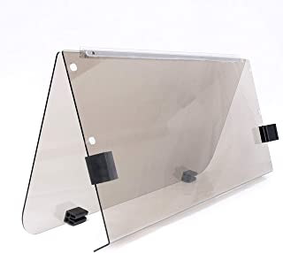 ECOTRIC G14 G16 G19 (1995-2003) Tinted/Smoke Fold Down Windshield for Yamaha Gas and Electric Golf Cart
