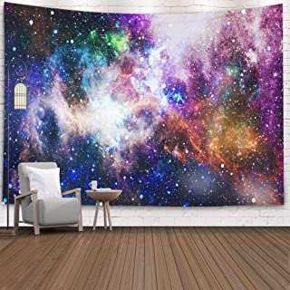 ROOLAYS Home Art Decor Wall Hanging Tapestry Star Field in Deep Space Many Light Years Far from The Earth Elements This Image Furnished with 60x50 Inches for Living Room Dorm Background Tapestries