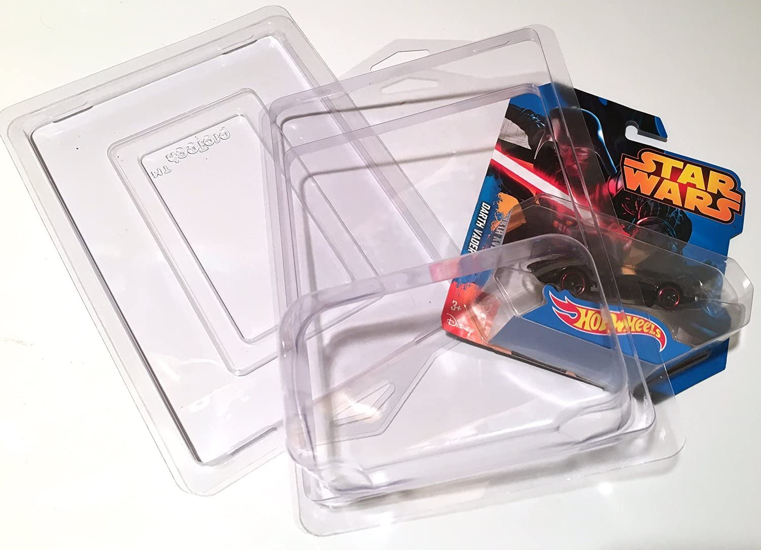 Hot Wheels STAR WARS Car Columbus Mall PROTECTIVE 12 of die-ca Set CASES Clear Spring new work