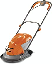 Flymo Hover Vac 250 Electric Hover Collect Lawn Mower - 1400W, 25cm Cutting Width, 15L Grass Box, Ambidextrous Handles, Fo...