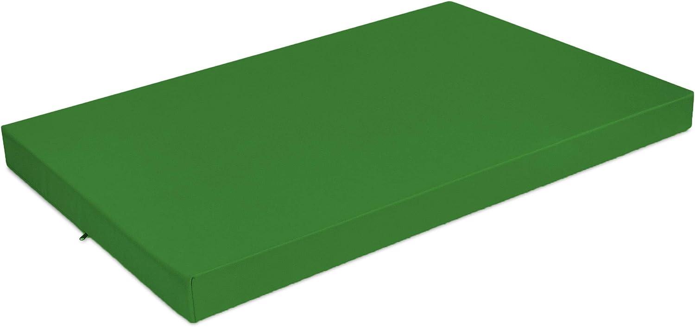 Superkissen24 Palettenkissen Palettenauflagen Sitzkissen Bordeaux Outdoor und Indoor 120x80 cm und R/ückenlehne 120x40 cm