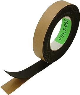 J.V. Converting FELT-065/BLK110 JVCC FELT-065 Polyester Felt Tape: 1