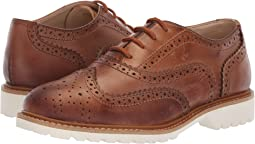 Wing Brogue Leather (Little Kid/Big Kid)