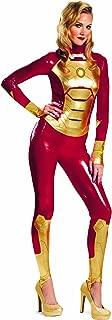 Disguise Marvel Iron Man 3 Mark 42 Lycra Sassy Womens Adult Bodysuit Costume
