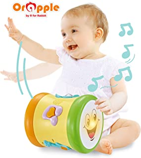 Orapple Musical Learning Drum Toys for Kids|Toddlers|Baby of 1, 2, 3 4 Years Old (Multi Color)
