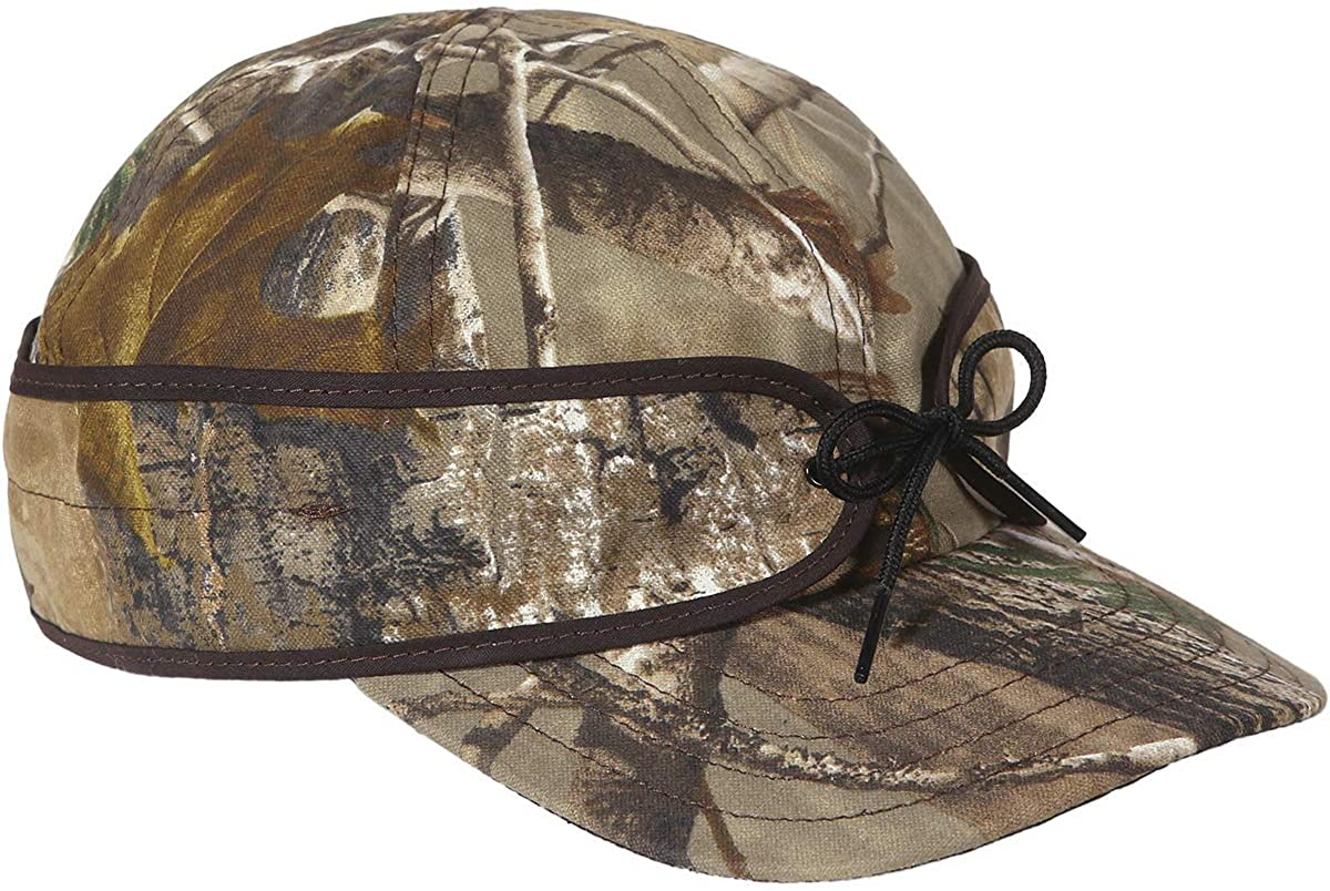 Stormy Kromer The Field Cap - Men's Baseball Cap with Earband for Sun and Wind Protection, Unlined