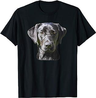 Black Lab Friedly Dog Labrador T-Shirt
