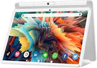 Android 10.0 Tablet 10.1 Inch, Octa-Core 5G WiFi 1920x1200 HD ThouchScreen Large Tablets with...