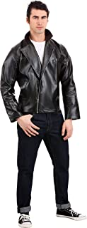 Men's Grease T-Birds Jacket Costume Grease Faux Leather Jacket Costume