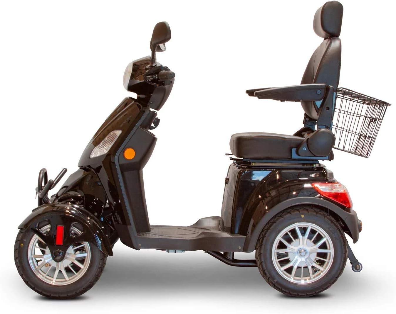 EWheels EW-46 Nippon regular agency Bariatric 4-Wheel Long Ranking TOP11 Mobility Sco Electric Range