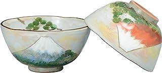 京焼 清水焼 俊山窯 組飯碗 吉祥富士 LSK509