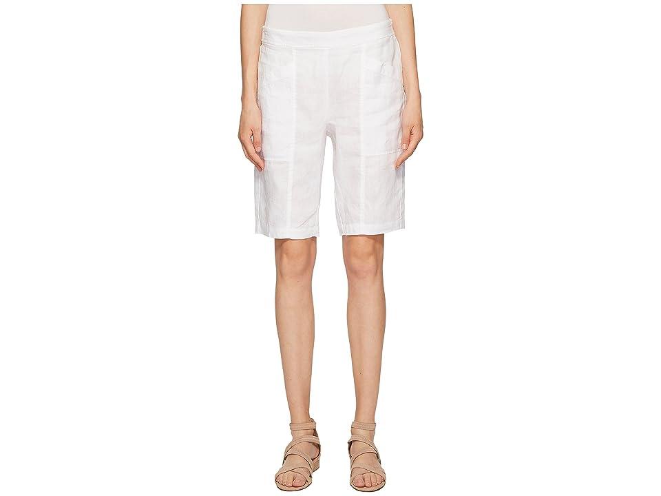 Eileen Fisher City Shorts (White) Women