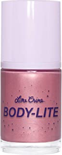 Lime Crime BODY-LITE Highlighter, Lunar - Pinky Lavender with Silver Shimmer - Make Skin Beam - Garden Scent - Moisturizin...