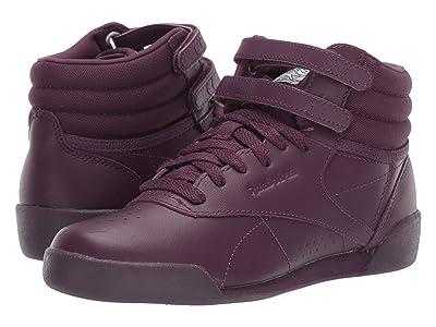 Reebok Kids F/S Hi (Toddler/Youth) (Violet/White/Peach) Girls Shoes