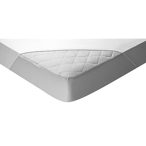 Pikolin Home - Protector de colchón acolchado cubre colchón, impermeable y transpirable, 180 x