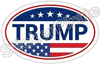 Oval Car Magnet Trump Bumper Sticker Magnet O127
