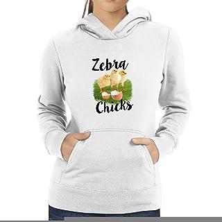 Eddany Zebra Three Chicks Women Hoodie