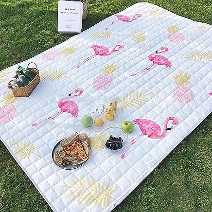 JYY Picknickdecke Wasserdicht feuchtigkeitsfest Kinder Spiel Krabbeln Teppich und für Outdoor Camping Wandern Gras Reisen B07Q7PLZBN | Erlesene Materialien