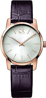 CK Ladies'Watch XS Analogue Quartz K2G23620 Leather