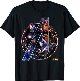 Best Avengers Infinity War Neon Team Graphic T-Shirt T-Shirt Review