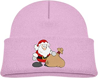 Daibing Kids Knitted Beanies Hat The Santa Claus Gifts Winter Hat Knitted Skull Cap