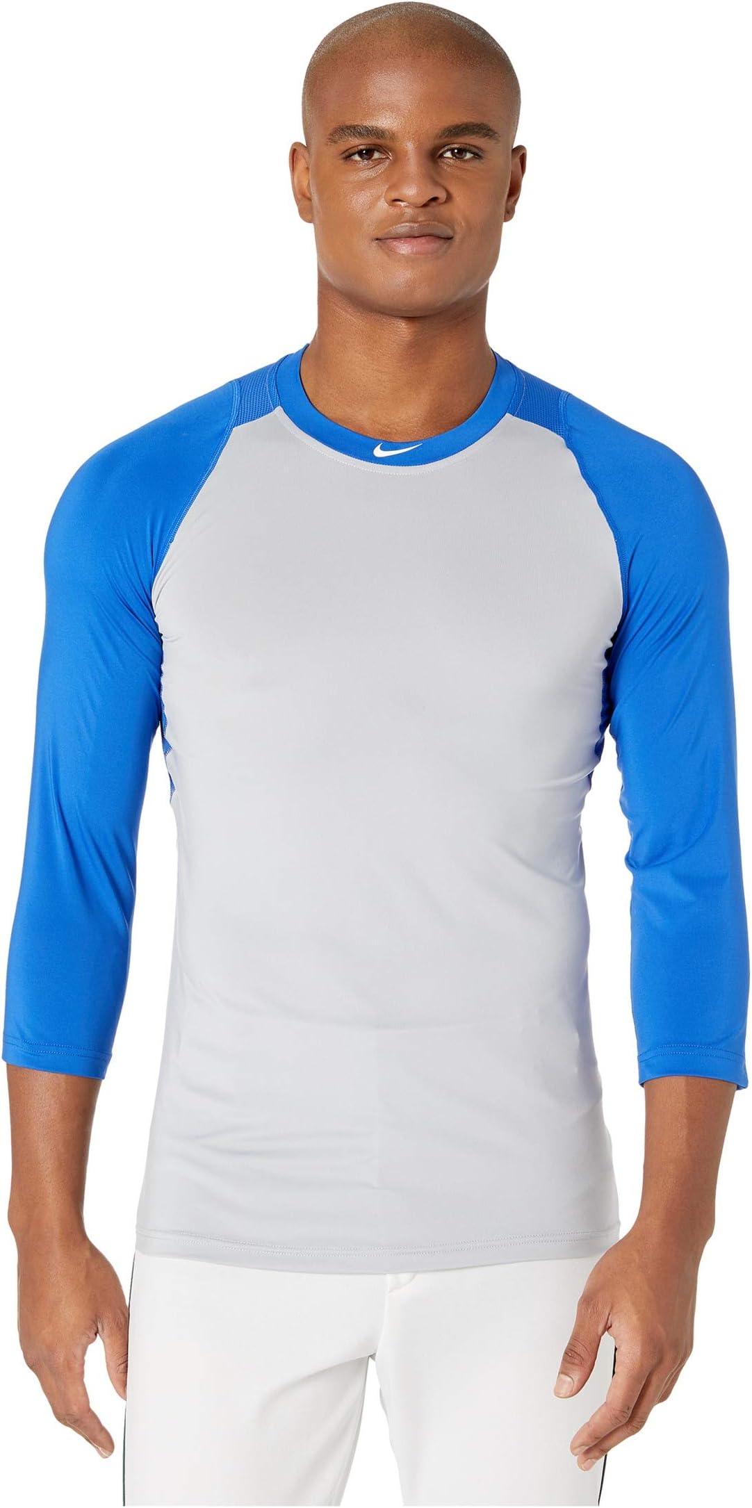 Nike Pro 3/4 Sleeve Baseball Top