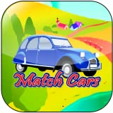 Match Cars for little kids : An Card Matching game to improve motor skills for toddlers